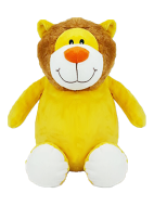 """Sundrop"" Lion Personalized Teddy Bear – Cubbies®"