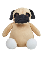 Fo' Shizzle Pug Personalized Teddy Bear – Cubbies®