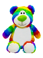 Cubbyford Rainbow Personalized Teddy Bear – Cubbies®