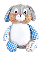 Clovis Brampton, Blue Bunny Personalized Teddy Bear – Cubbies®