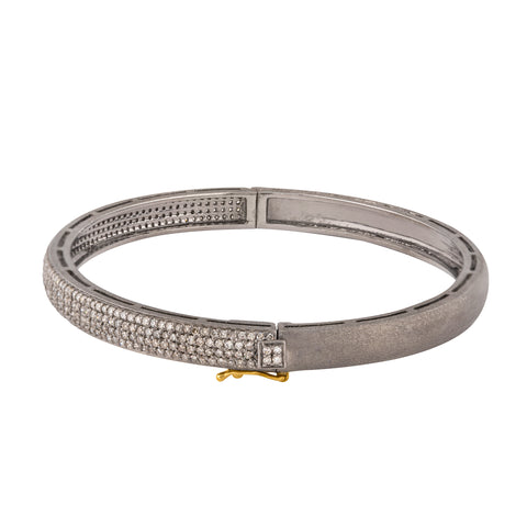 Golden Ladder of Yellow Stars & Pink Elliptical Bangle
