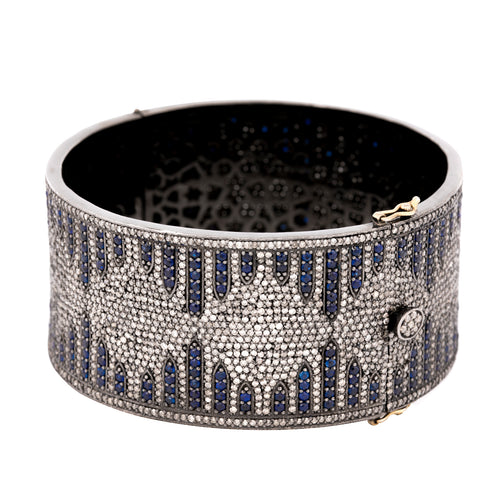 Sapphire & Diamond Magic of the Night Bangle