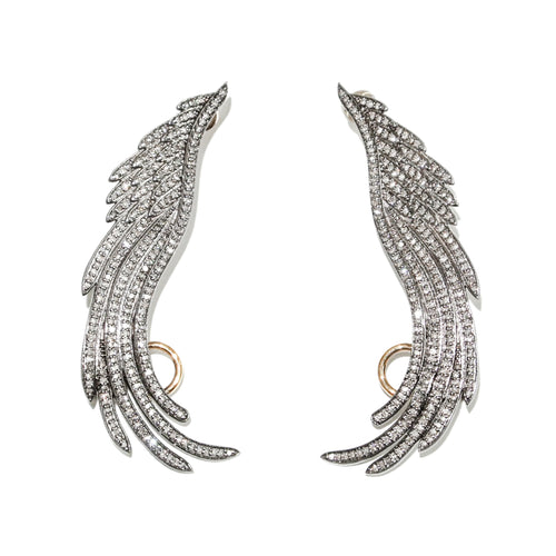 Diamond Wing Earcuff