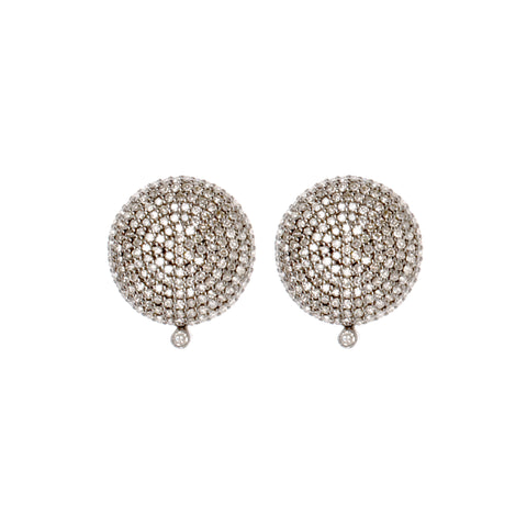 Lunar Radiance Diamond Earrings