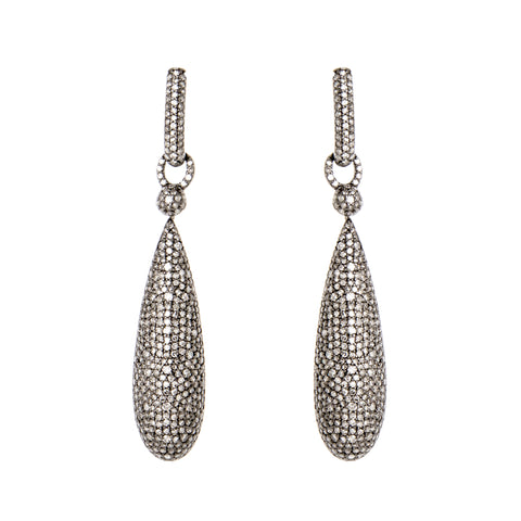 Sempiternal Drop Diamond Earrings