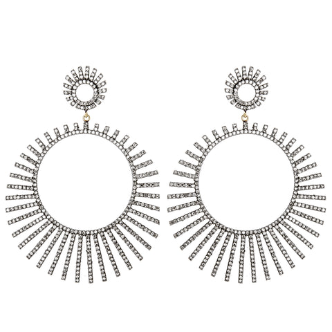 Timeless Diamond Duet Earrings