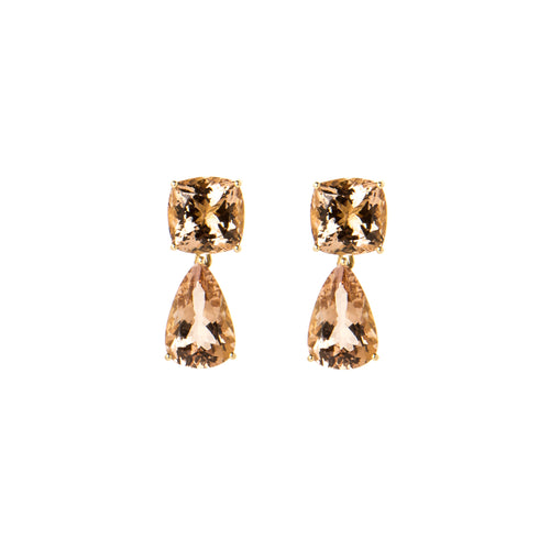 Morganite Dharma Earrings