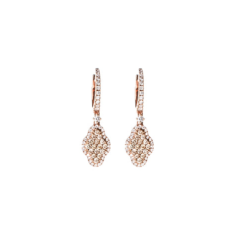 Diamond Cascades Earrings
