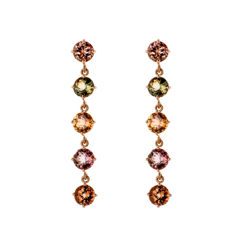 Tourmaline Bubbles I Earrings