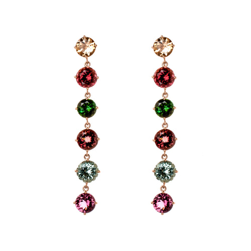 Tourmaline Bubbles III Earrings
