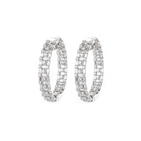 Aurora Diamond Earrings