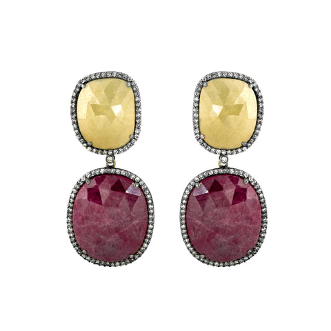 Ruby Elixir Earrings