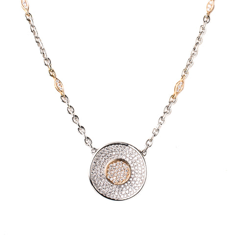 Diamond Gaia Necklace