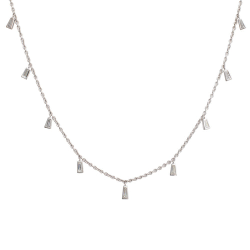 Diamond Maia Necklace White Gold