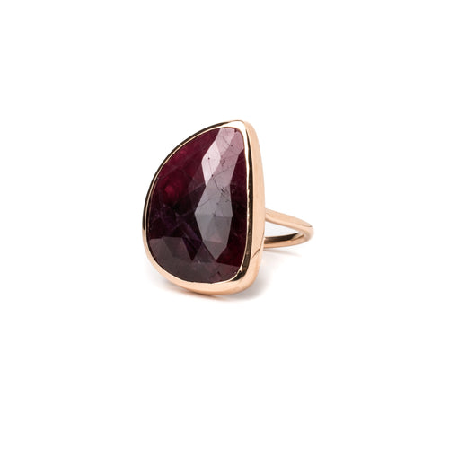 Ruby Stylite Ring