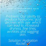 Hydration Rocket:  Natural Hyaluronic Acid - Moonlight Beauty