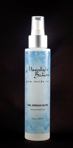 The Jordan Glow: Dead Sea Salt Mineral Mist - Moonlight Beauty