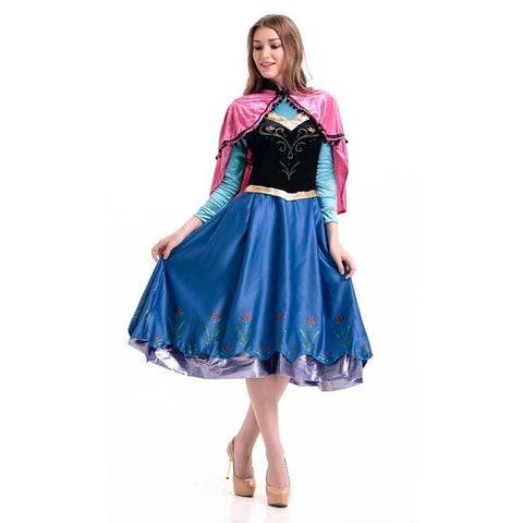 Adult Frozen Princess Anna Costume Dress  sc 1 st  Costume Rebels & Adult Frozen Princess Anna Costume Dress u2013 Costume Rebels
