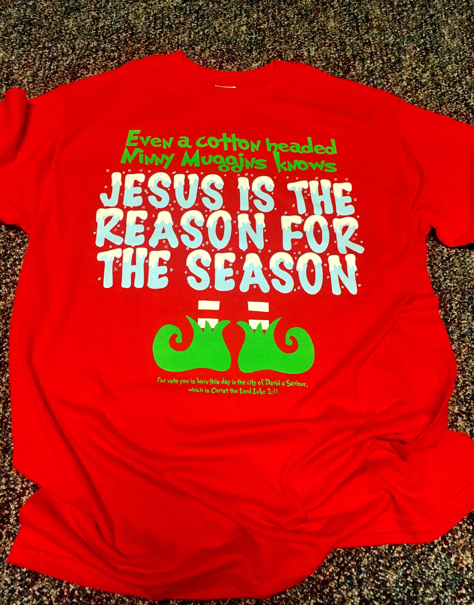 BOGO- Jesus is the reason T-Shirt