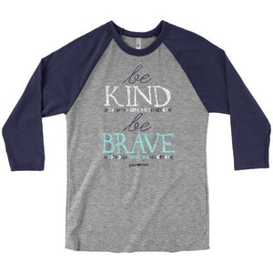 Grace & Truth Be Kind Raglan T-shirt ™