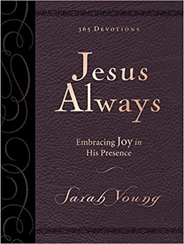 Jesus Always - 365 Devotions large print