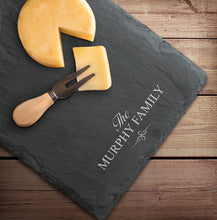 Personalized Slate Cheese Board