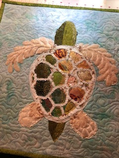 Sea Turtle Collage Class