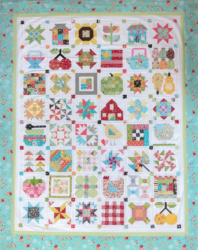 Farm Girl Vintage Block of the Month