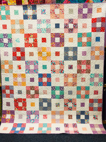 Four Corners Confetti Quilt Kit - SALE 20% OFF
