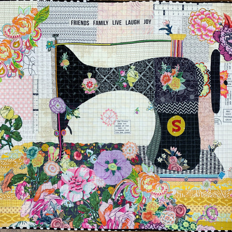 Featherweight Collage Kit (fabric only)