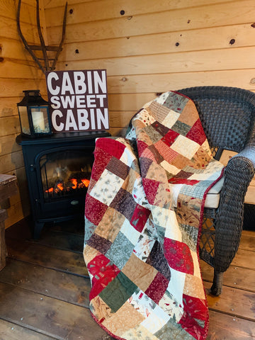 Double Slice Quilt Kit