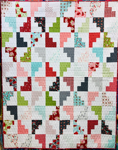 Hello March Quilt Kit - 30% OFF Steal of the Week!