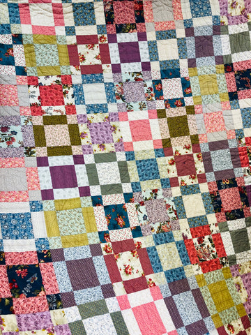 Flower Pot Quilt Kit - SALE 20% OFF