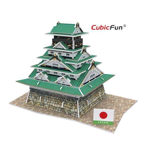 JAPAN OZAKA CASTLE - Cubicfun