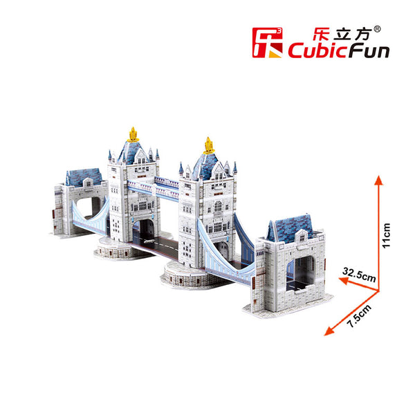 TOWER BRIDGE MINI - Cubicfun - Puzzle 3D