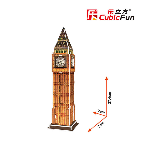 BIG BEN MINI - Cubicfun - Puzzle 3D