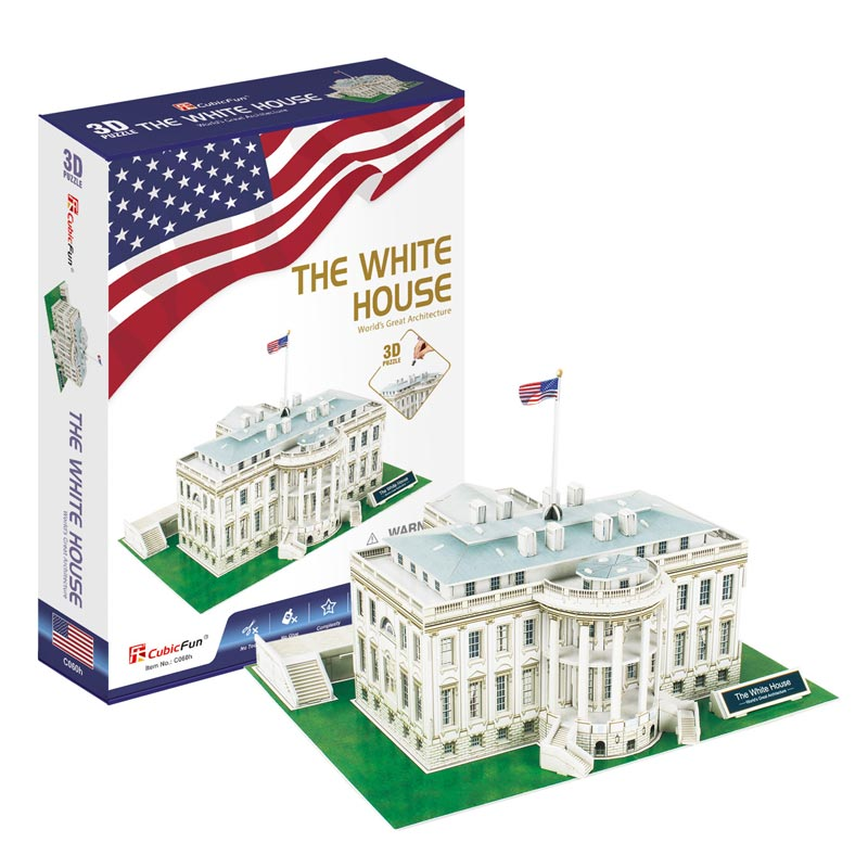THE WHITE HOUSE Serie C - Cubicfun - Puzzle 3D