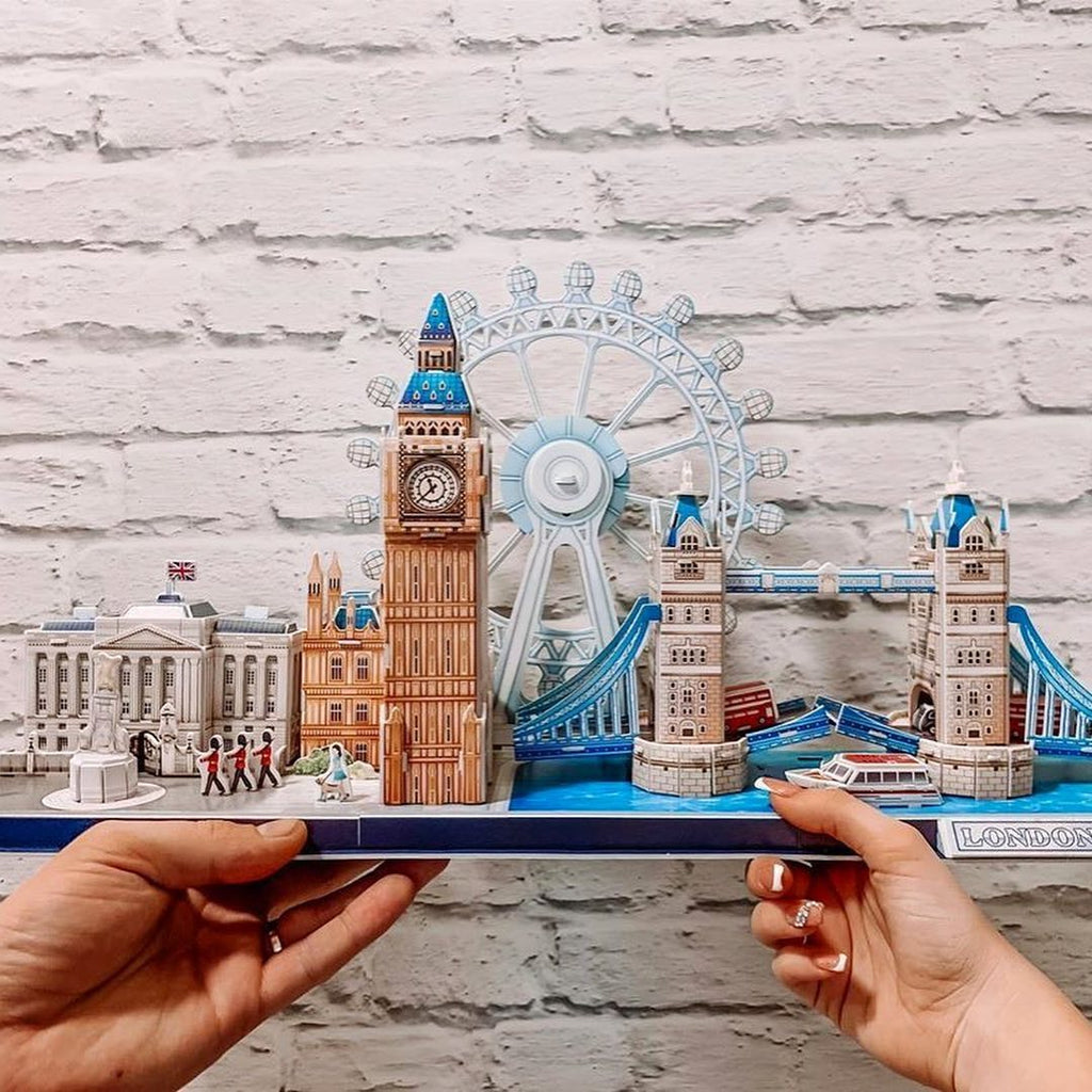 Pack City Tour London 2 Puzzles - Cubicfun - Puzzle 3D