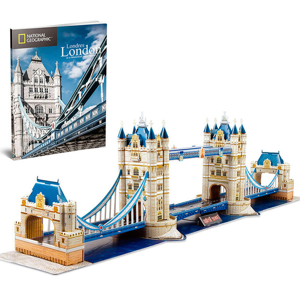 TOWER BRIDGE NATGEO - Cubicfun - Puzzle 3D
