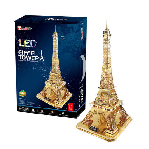 EIFFEL TOWER GOLDEN LED