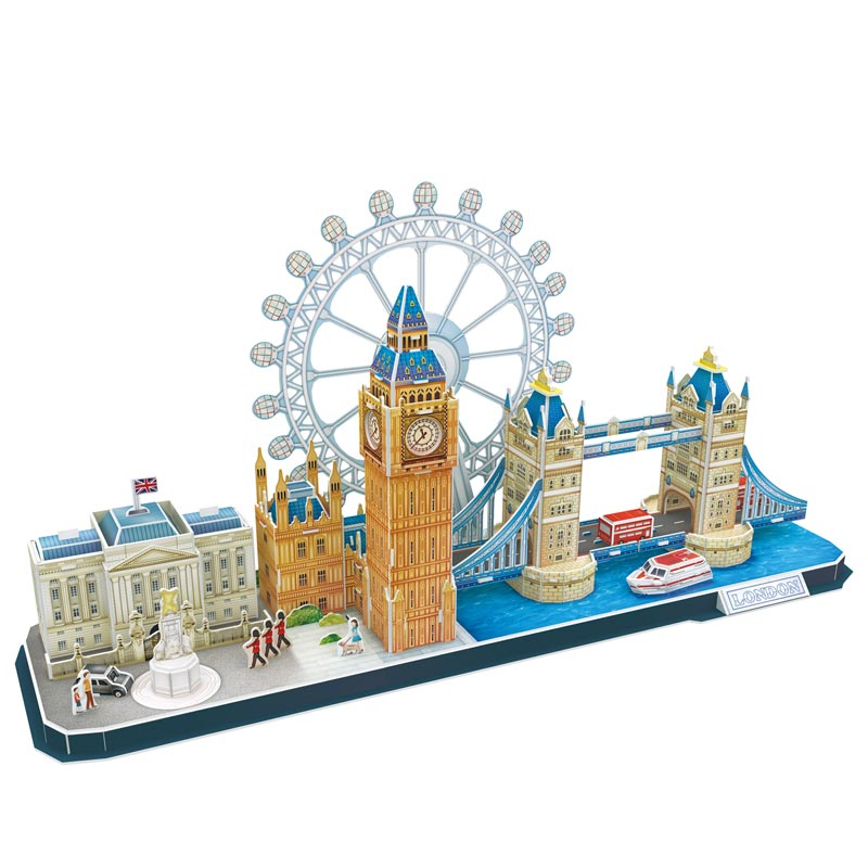 LONDON CITY LINE - Cubicfun - Puzzle 3D