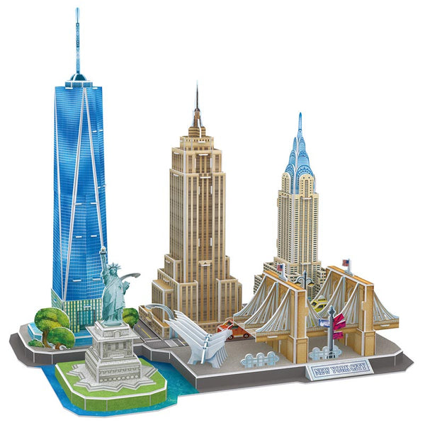 NEW YORK CITY LINE - Cubicfun - Puzzle 3D