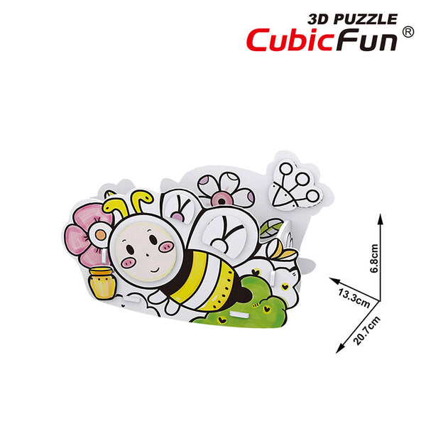 HONEY BEE PARA COLOREAR - Cubicfun