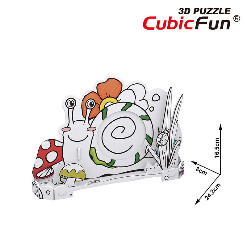 HONEY BEE PARA COLOREAR - Cubicfun - Puzzle 3D