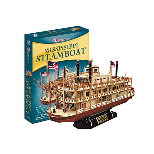MISSISSIPPI STEAMBOAT - CubicFuncl
