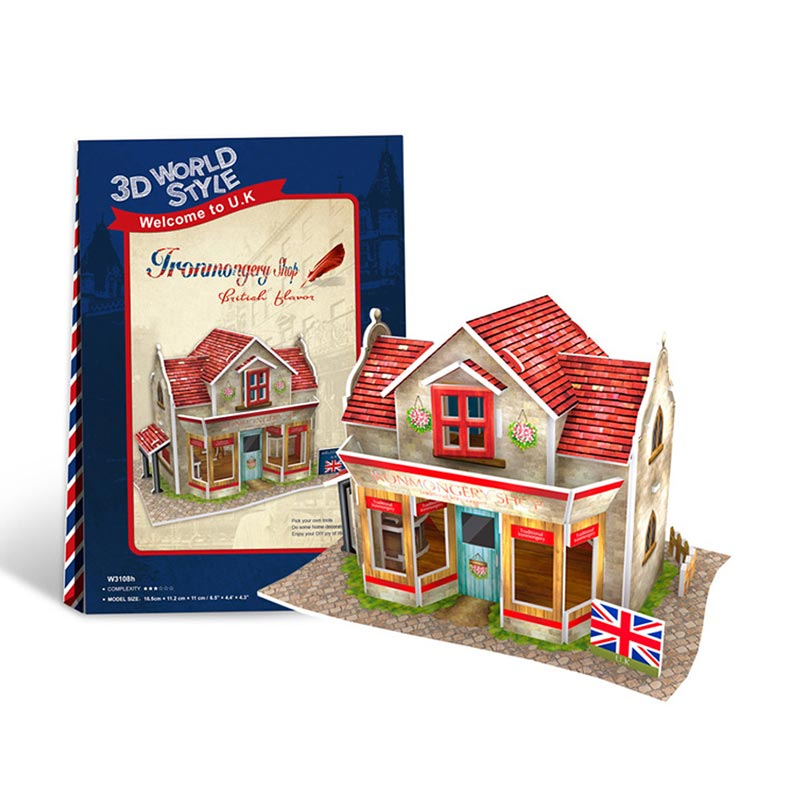 IRONMONGERY SHOP BRITISH FLAVOR - Cubicfun