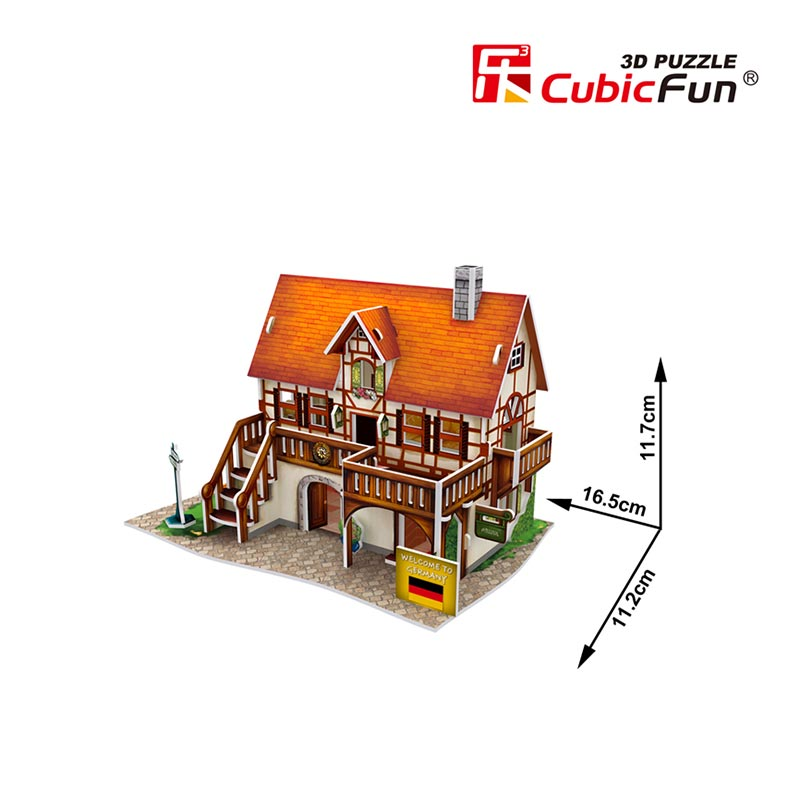 ART STUDIO GERMANY FLAVOR - Cubicfun - Puzzle 3D