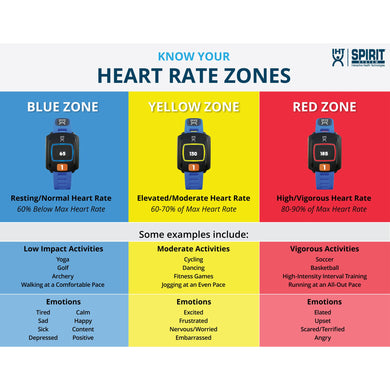 Heart Rate Zone Wall Banner