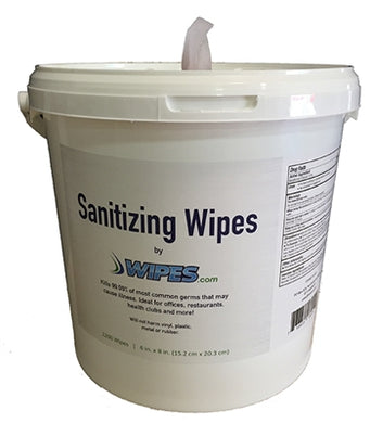Sanitizing Wipes with Dispenser