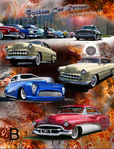 Custom Car Canvas 16X20 / 3 Options